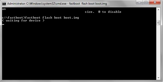 fastboot-comand