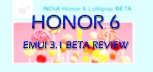 B506, B507, Honor 6 Lollipop Beta