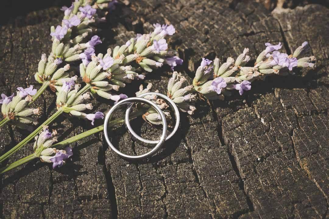 Un mariage sous le thème de la lavande