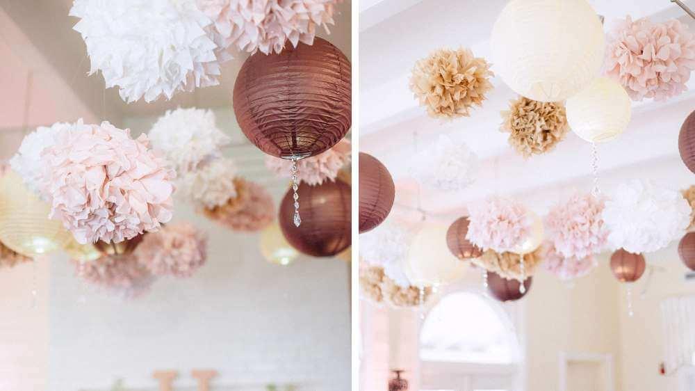 Pompons fleuris