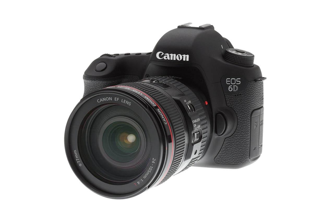Canon 6D à la location.