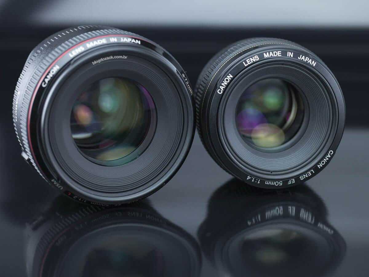Réserver votre Canon 50 mm à ouverture à 1,2