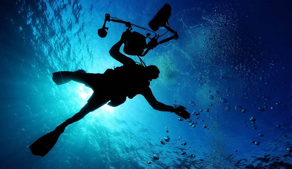 Location Caisson et matériel photo sous marin