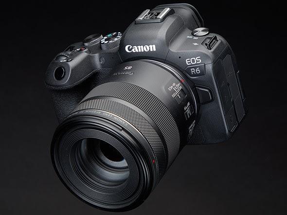 Un photographe de mariage test le canon R6