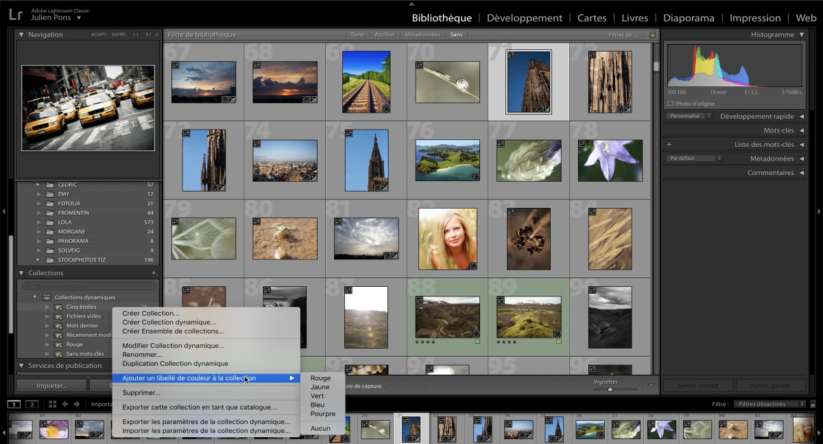 formation sur lightroom photoshop en gironde 33 découvrir le graphisme