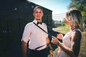 Un photographe de mariage originale et décalée Pour mon futur mariage.