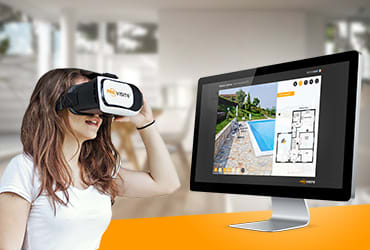dans la région de Bordeaux visite virtuelle pour l'immobilier