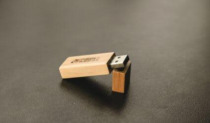 Coffret photo pour les mariés clée USB mariage