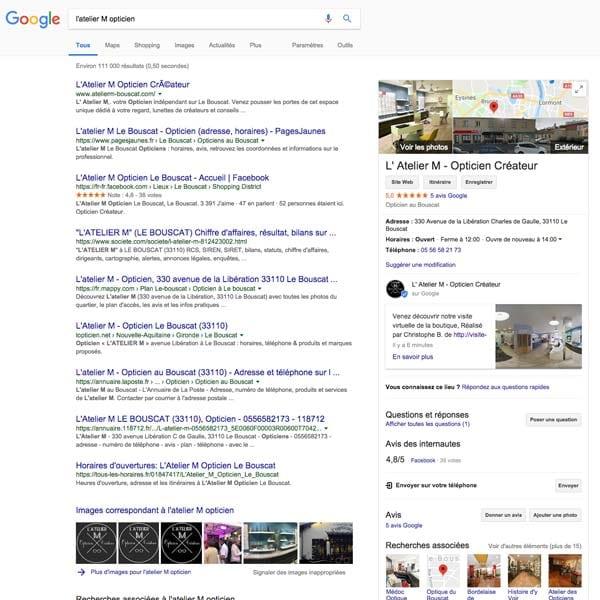 Référencement local sur Google