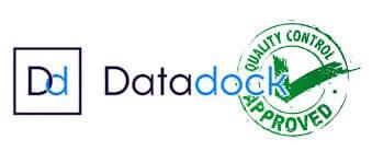 logo datadock formation valide photo photoshop