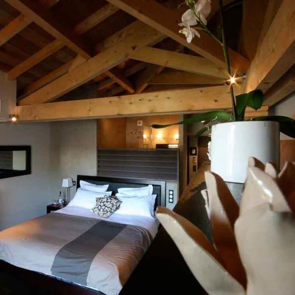 chambre d'hôtel mise en valeur d'une chambre d'un hôtel sur le bassin d'Arcachon Cap-Ferret Aquitaine formation photo et graphisme