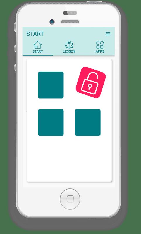 Screenshot Werkgeluk App - intro scherm