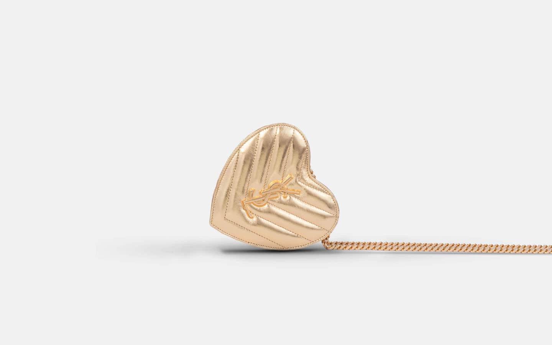YSL_Mini_Love_Heart_Bag_Gold_Clutch_Side_-min