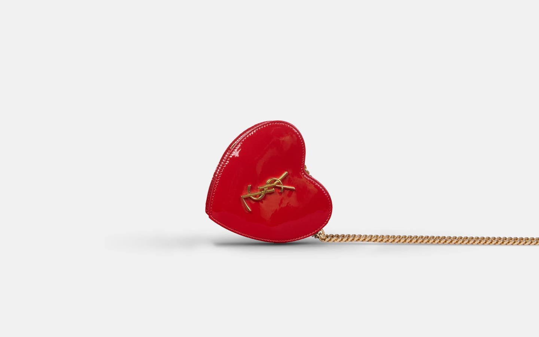YSL_Mini_Love_Heart_Bag_Red_Clutch_Side-min