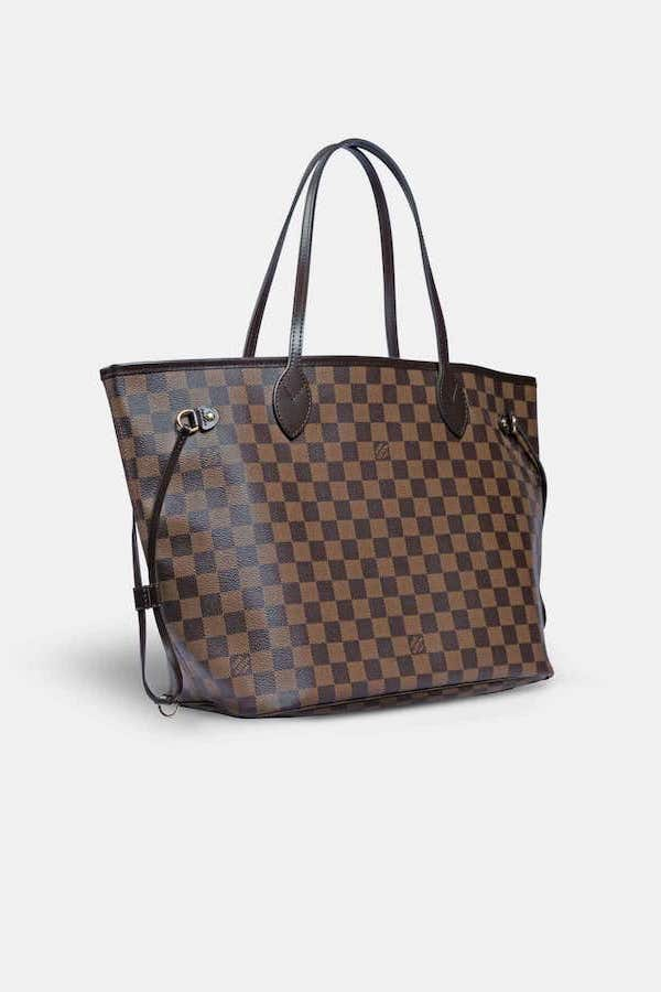 Louis Vuitton Neverfull Angled