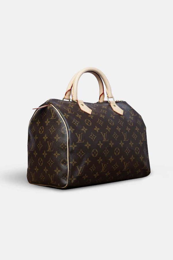 Louis Vuitton Speedy 30 Angled
