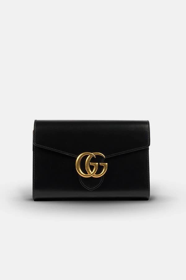 Gucci Marmont Chain Wallet