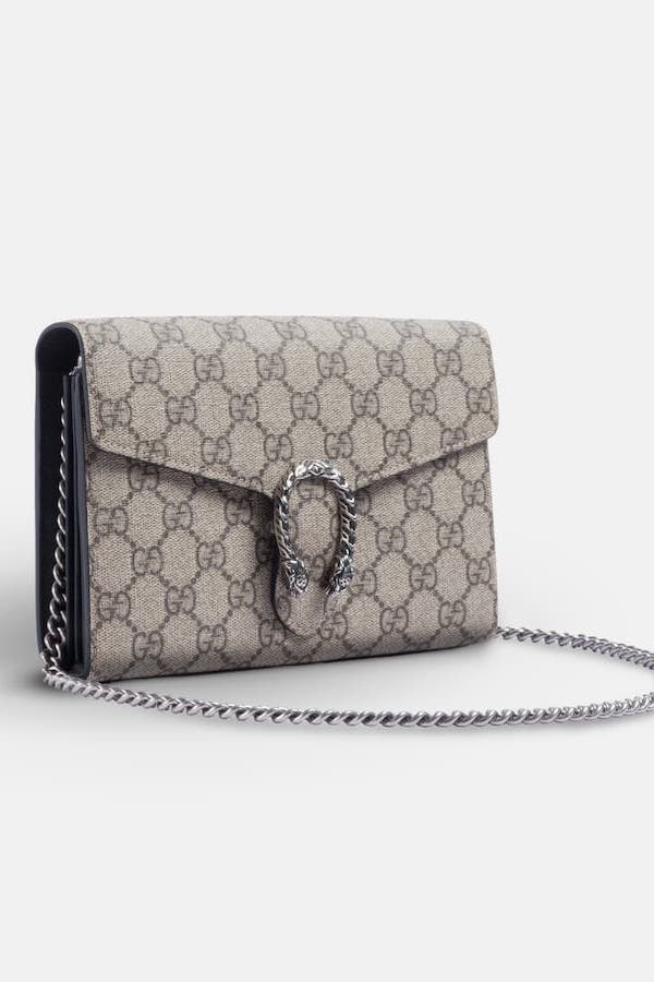 Gucci Dionysus Chain Wallet Angled