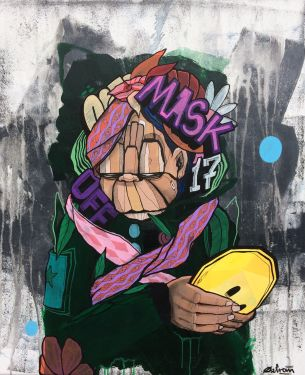 Visual Artwork: Mask Off by artist and creator Atle Østrem