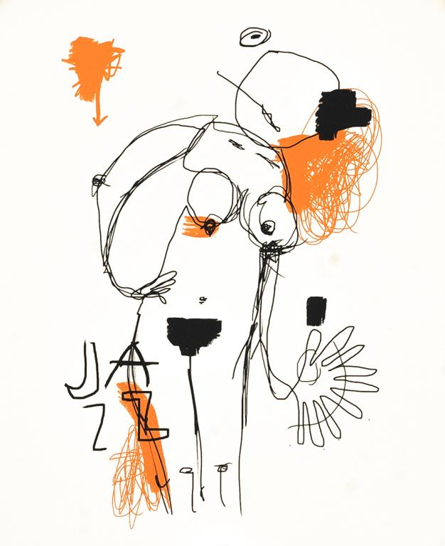 Visual Artwork: Jazz hands by artist and creator Ståle Gerhardsen