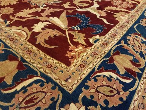 Close up of rug corner