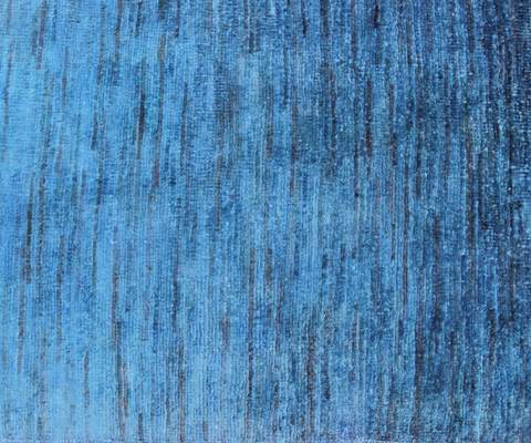 2x3 Blue Overdyed Rug 3