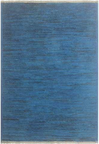 2x3 Blue Overdyed Rug
