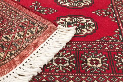 3x5 Red Bokhara Oriental Rug 5