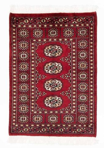 Red Bokhara Oriental Rug 15