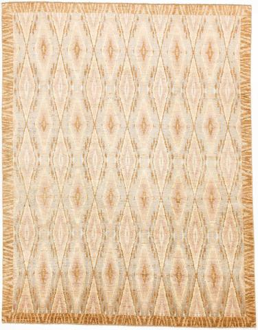 Multi Colored Ikat Rug