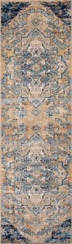 Navy Turkish General Life Style Rug 2