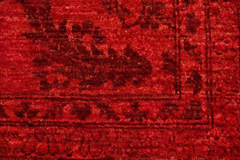 8.5 x 11.4' Red Overdyed Ziegler Rug 3