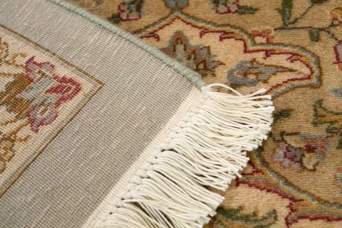 9 x 12.17' Green Antique Sootri Rug