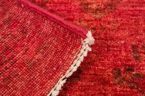 buy Overdyed Rug red