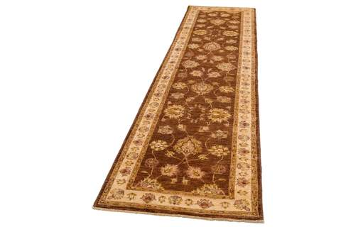 brown beige runner rug