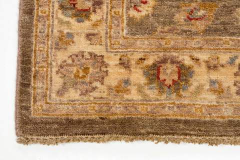 3x10 runner rug brown