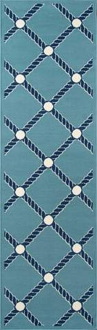 Blue Egyptian General Life Style Rug 2