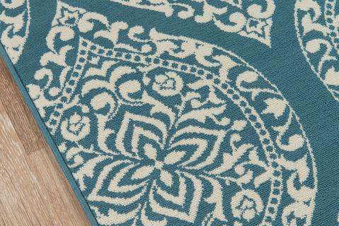 Blue Egyptian Rug 1