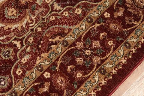 Red Turkish Classic Traditional Rug 1