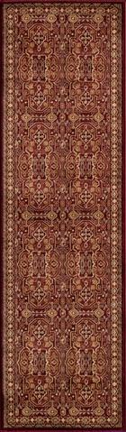 Red Turkish Classic Traditional Rug 2