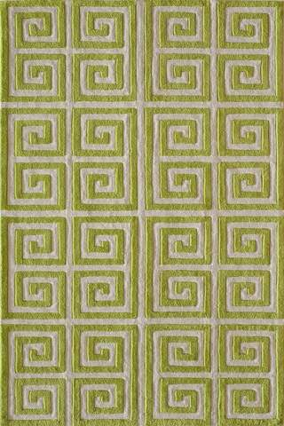 Apple Chinese Geometric Modern Rug