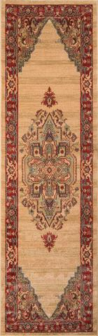 Beige Turkish Classic Traditional Rug 2