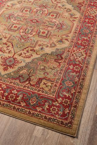 Beige Turkish Classic Traditional Rug 3