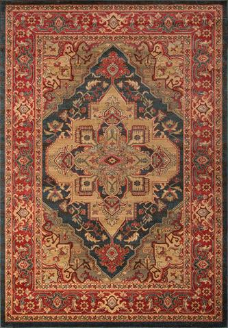 Navy Turkish Classic Traditional Rug