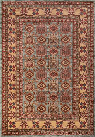 Blue Turkish Traditional Rug