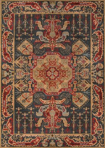 Navy Turkish General Life Style Rug
