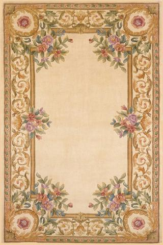 Ivory Chinese Classic Traditional Rug