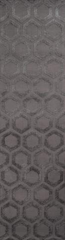 Charcoal Chinese Transitional Modern Rug 2