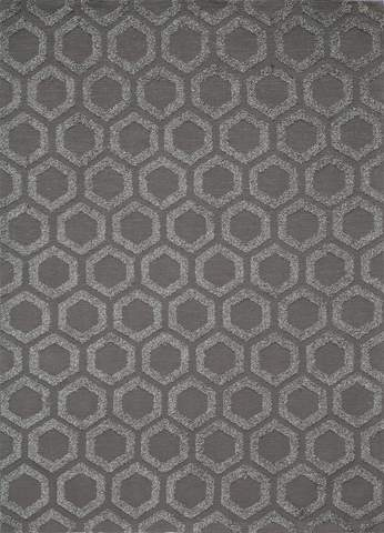 Charcoal Chinese Transitional Modern Rug