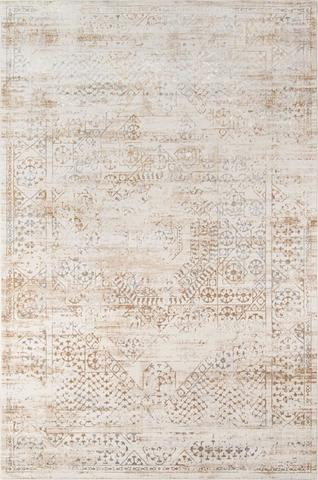 Beige Turkish Southwestern Rug